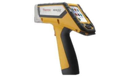 The Niton XL2 Analayzer. Giving ChromeTech both alloy grade identification and chemical analysis of the scanned material